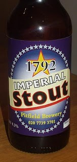 Pitfield's 1792 Imperial Stout