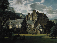 Traquair House (1938) by James McIntosh Patrick, National Galleries of Scotland