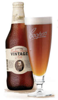 vintage Coopers extra ale strong