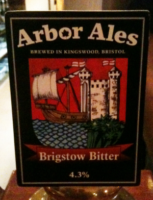 Arbor Ales Brigstow Bitter. Pic: Wonker - Creative Commons