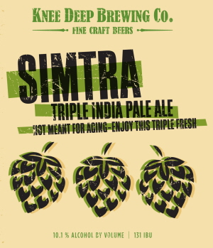 Knee Deep Simtra Triple India Pale Ale
