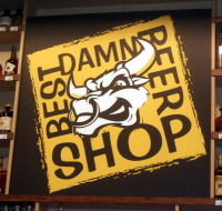 San Diego, California, USA: Best Damn Beer Shop and no bull.