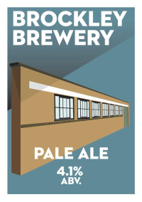 Brockley Brewery Pale Ale from London SE4.