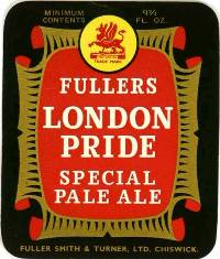 1960s Fuller's London Pride label.