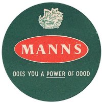 Mann's beermat from less politically correct days.