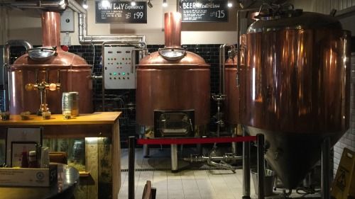 Brewhouse and Kitchen Highbury: a newer, bigger kit than originally planned in one of London's newest brewpubs.